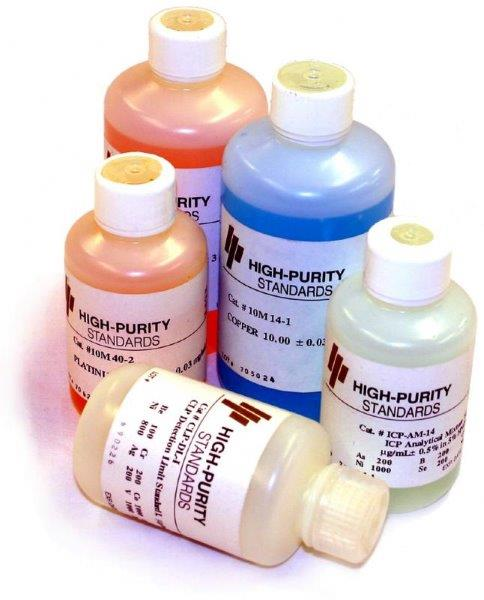 Padrões para cromatografia de íons